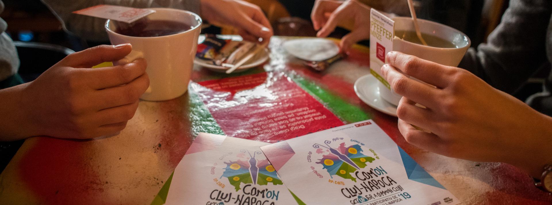 500 de tineri propun 135 de inițiative pentru dezvoltarea orașului, în cadrul proiectului Com'ON Cluj-Napoca
