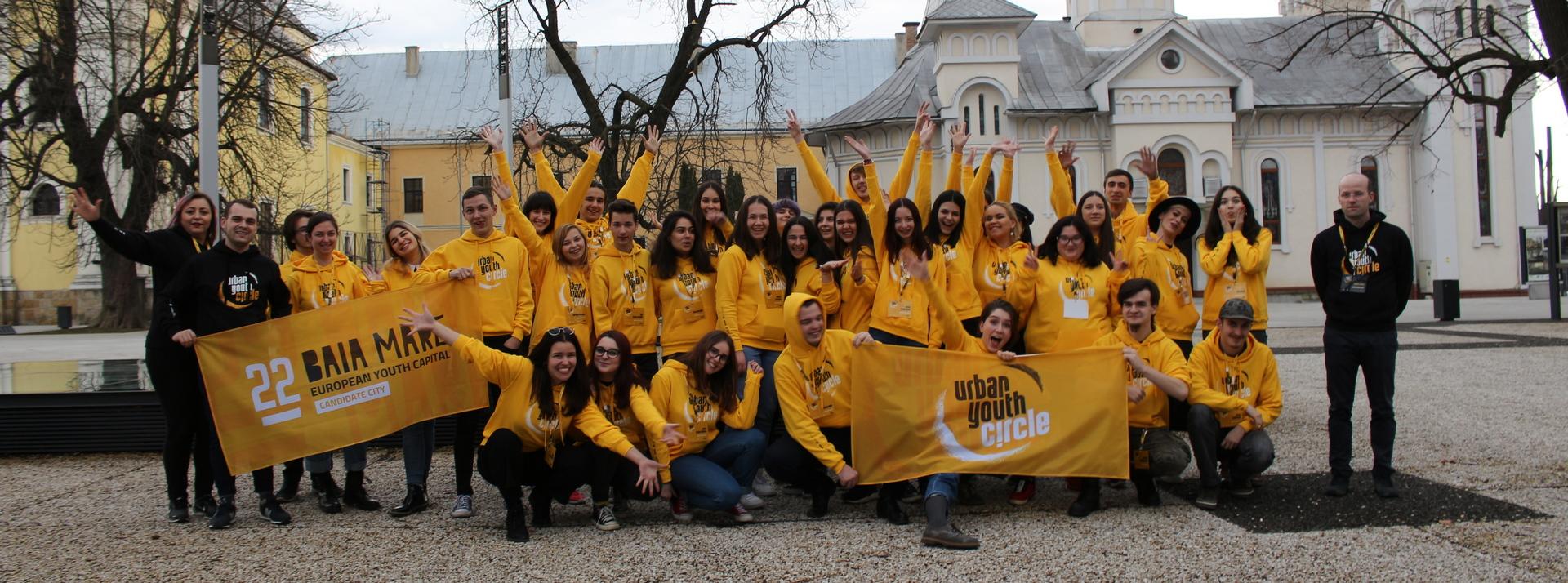 Baia Mare a intrat în finala pentru titlul de Capitala Europeană a Tineretului 2022